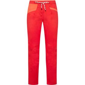 La Sportiva Temple Pantalones Mujer, hibiscus/flamingo